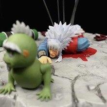 New Anime Naruto Shippuden The Death Of Jiraiya Gama Sennin Ero sennin GK Statue PVC Action Figure Model Collectible Toys Doll