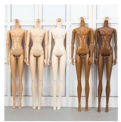 Brinquedo Do Modelo Do Corpo feminino Super Branco Original 22 Articulações Móveis Boneca Acessórios Da Boneca de Presente de Natal Presentes Princesa Boneca Corpo