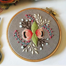 Cross-Stitch Frame Wood Embroidery Lap Stand Wood Frame w/ Hoop DIY Sewing Tool(China)