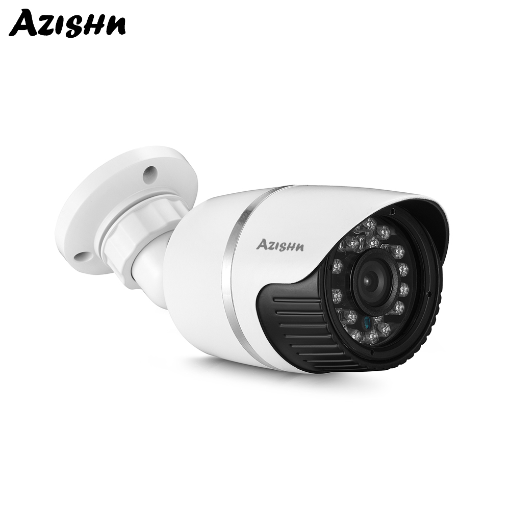 AZISHN IP Camera 4.0MP <font><b>Hi3516D</b></font> H.265 Outdoor Waterproof IP66 CCTV Security Video Surveillance Camera P2P XMEYE 48V POE Optional image