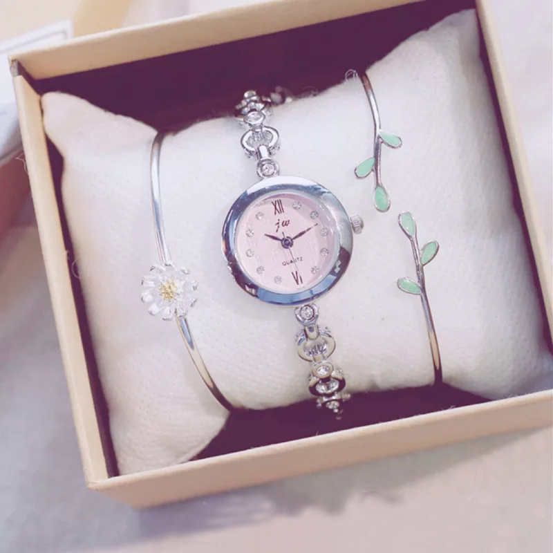 Woman Gift Sets Small Dial Wrist Watch