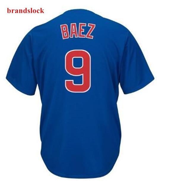 2019 Chicago Javier Baez Ersey American New Men's Custom Usa Baseball Cool Jersey