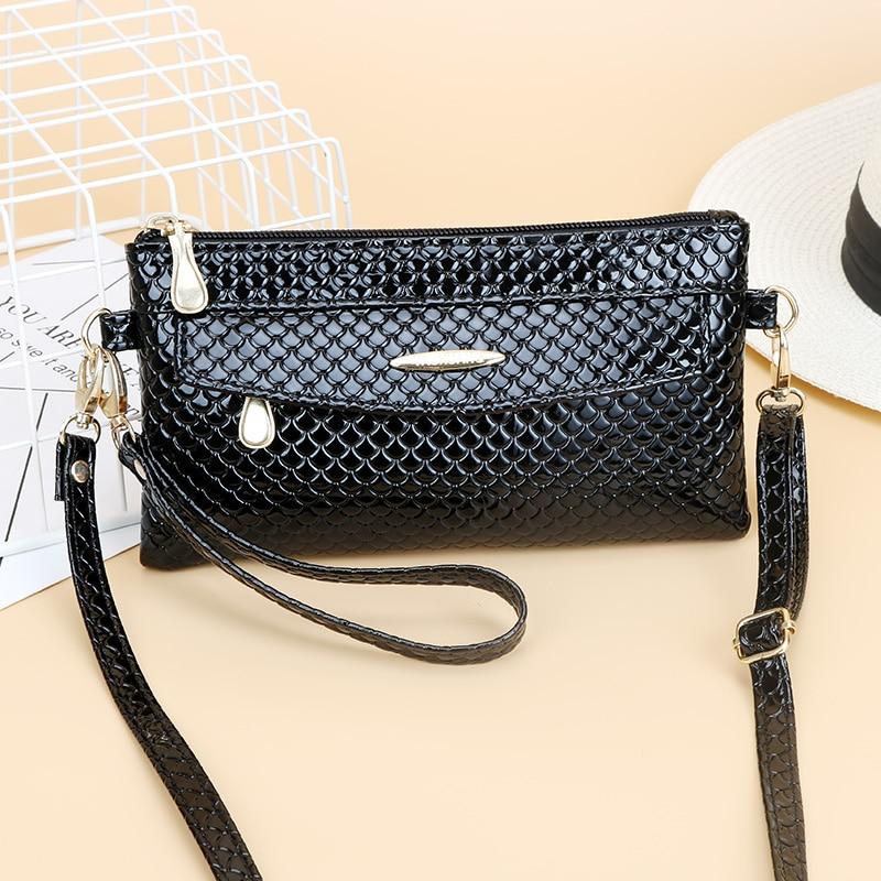 Luxury Clutch Strap Mini Female Bags Shoulder Messenger Bag Womens Famous Brand Handbag Woman For Bags Crossbody Red Black