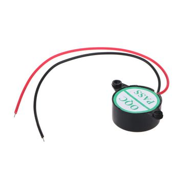 3-24V Electric Buzzer Alarm Loud Speaker Warning Car Security Horn Automobile Siren image
