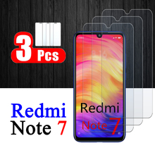 3Pcs Redminote 7 tempered glass On For Xiaomi Redmi Note7 screen protector redmi7 xiaomi7 xiomi Note 7 protective glas armored
