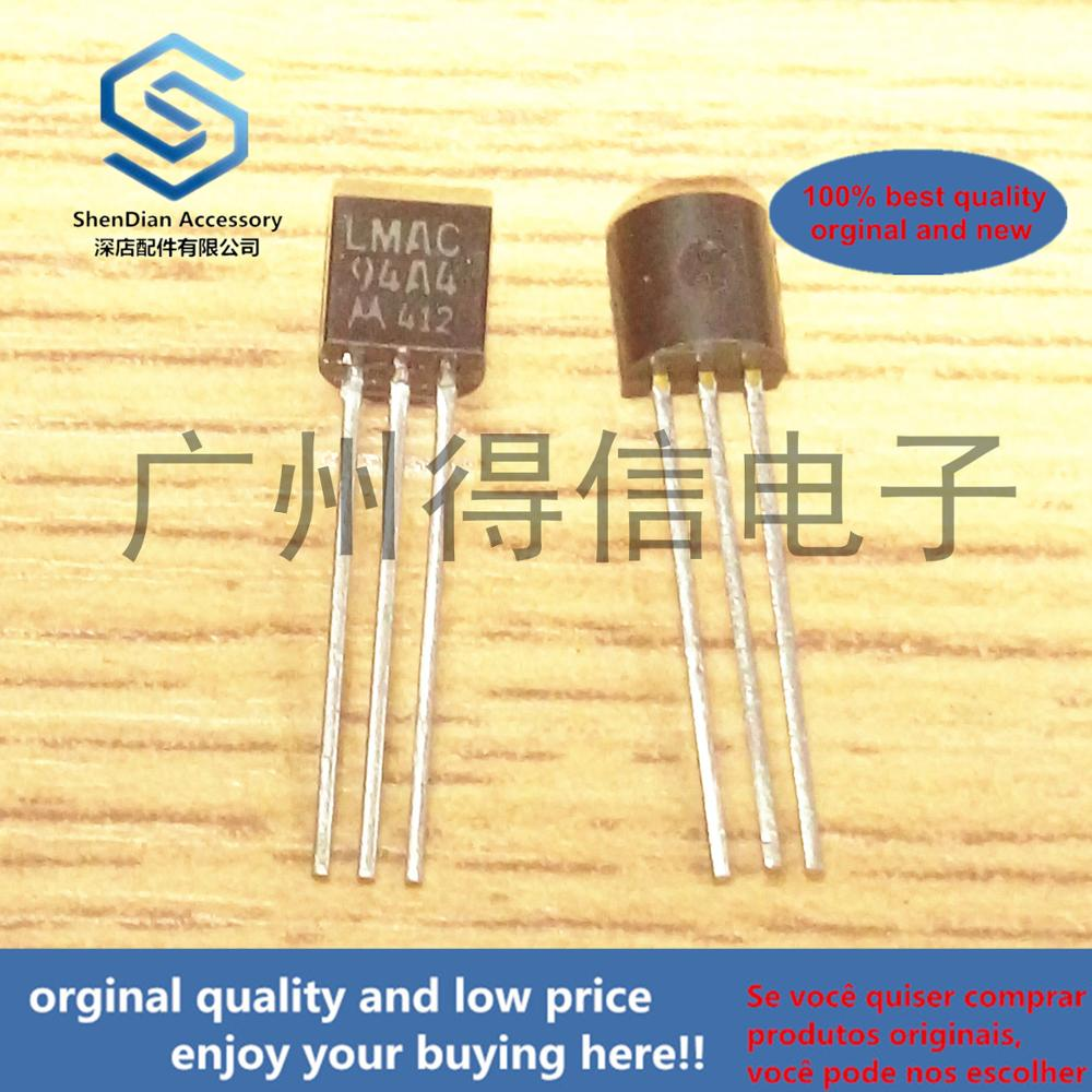 10pcs 100% Orginal New  LMAC94A4 MAC94A4 94A4 TO-92 Real Photo