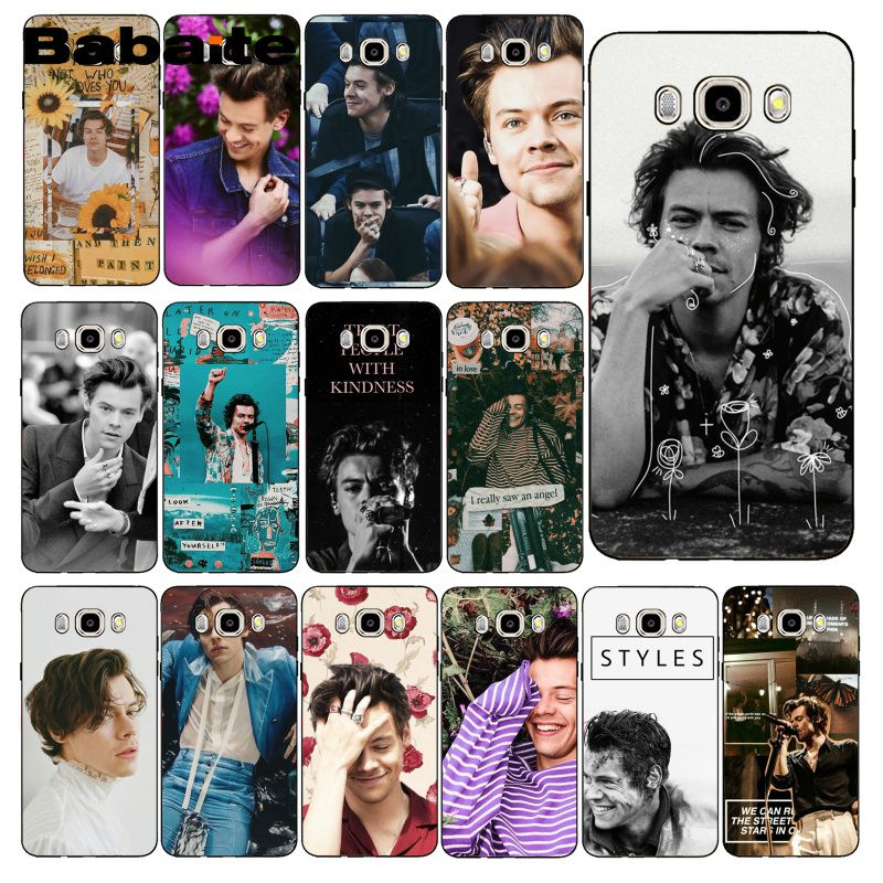 Babaite Singer Harry Styles One Direction Coque Phone Case For Samsung Galaxy J7 J6 J8 J4 J4Plus J7 DUO J7NEO J2 J7 Prime image