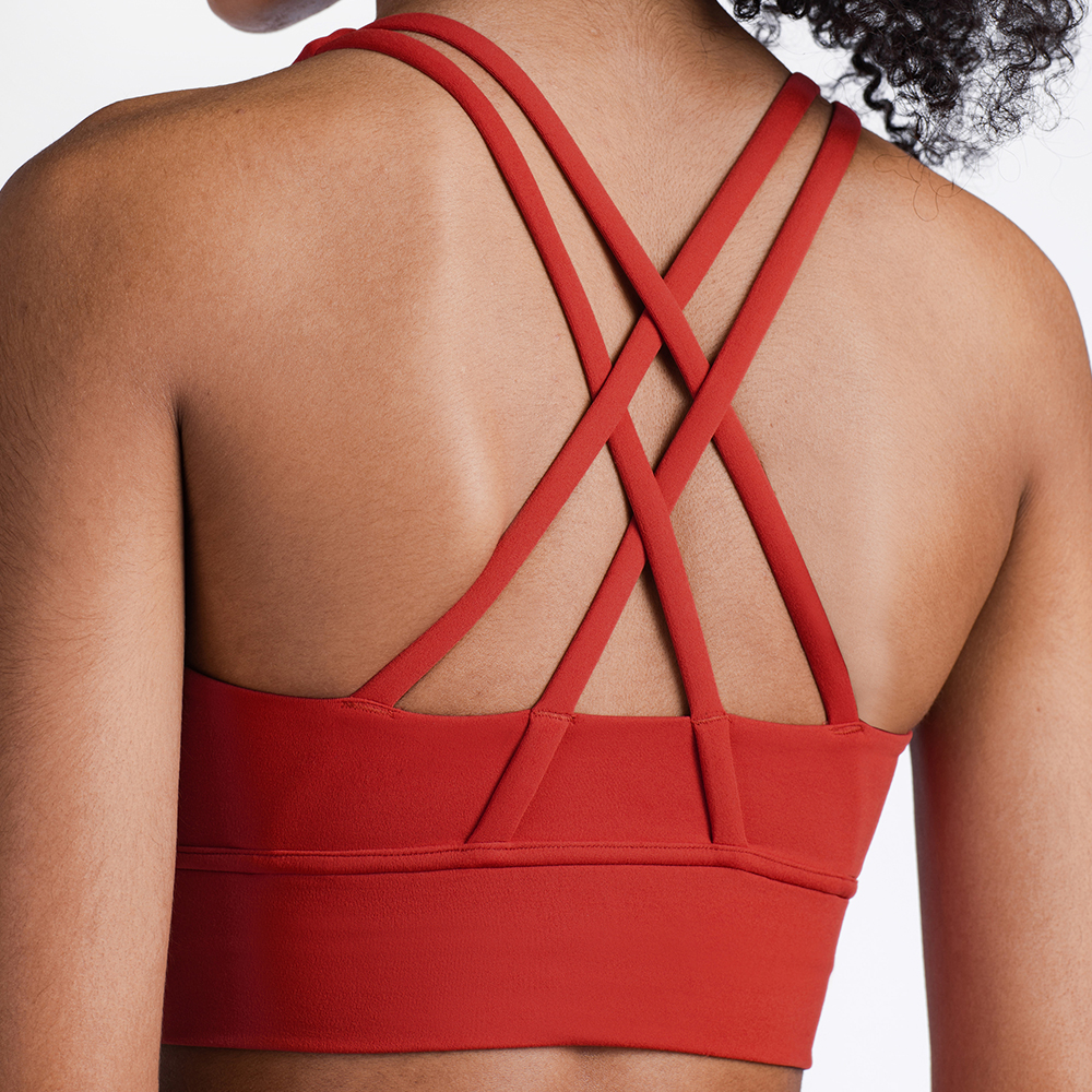 Sexy Sports Bra Yoga Tops Women Bralette Fitness Gym Active Running Workout Walking Pad Tank Tube Crop Top Push Up Seamless