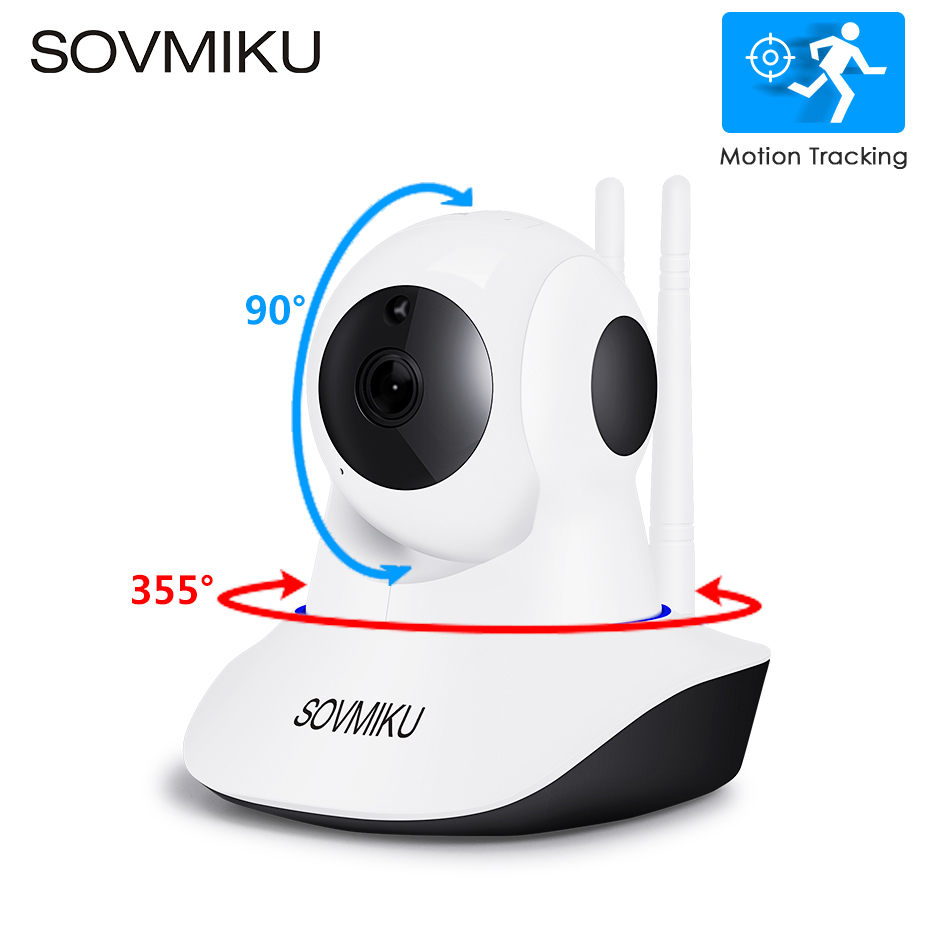 WIFI CCTV 1080 P 720 P IP Camera Draadloze babyfoon Home Security Infrarood Nachtzicht Videobewaking Auto Tracking Camera