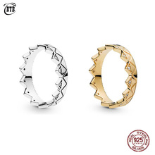 2019 Summer Authentic 925 Sterling Silver Shine Exotic Crown Original Europe Ring For Women Bead Charm Gift Fine Jewelry цена 2017