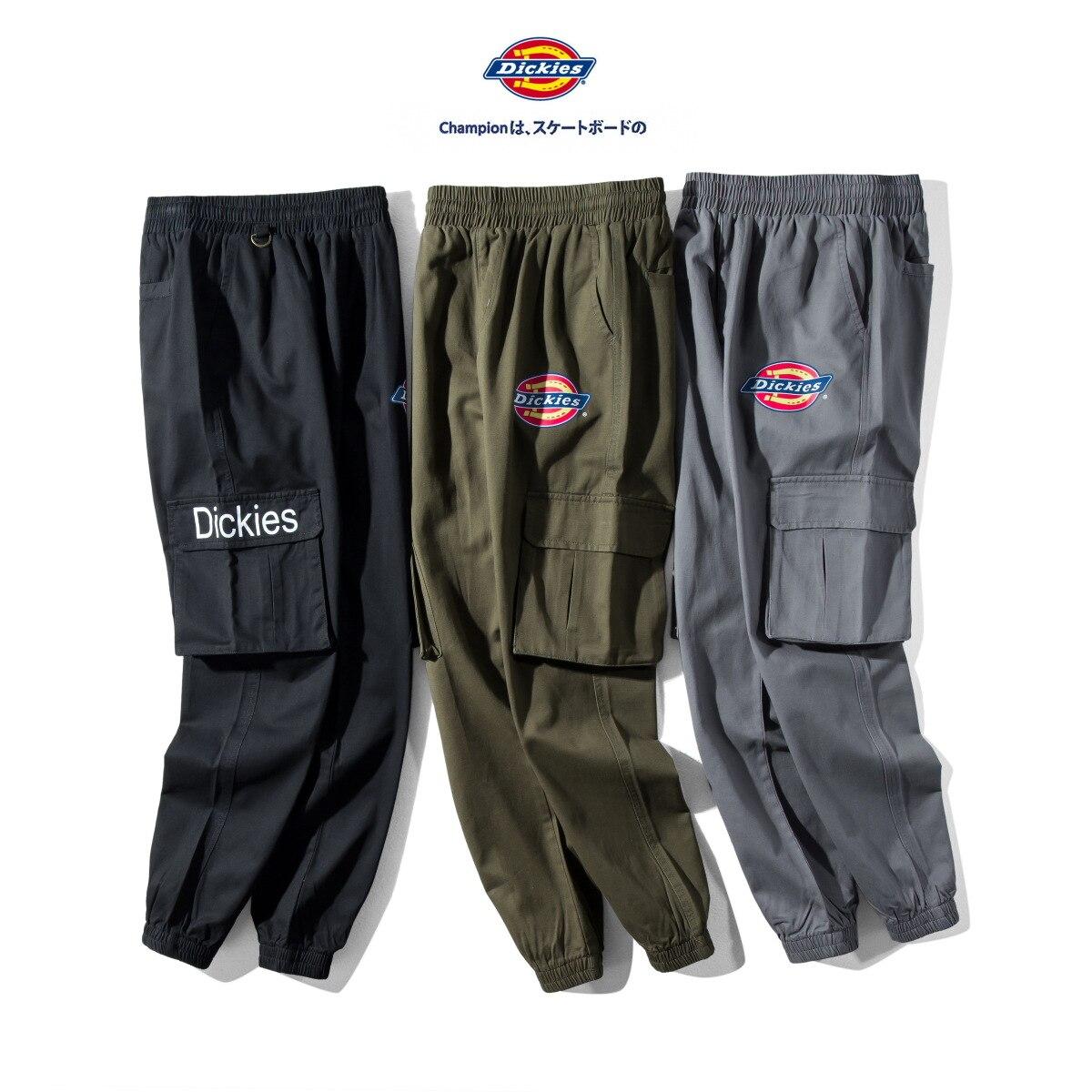 2019 Popular Brand Dickies Di Ke MEN'S Casual Trousers Loose-Fit Trend Versatile Couples Multi-pockets Workwear Cloth