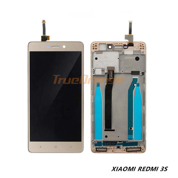 Original 5'' LCD For Xiaomi Redmi 3S LCD Display Touch Screen Assembly With Frame Replacement Repair Parts