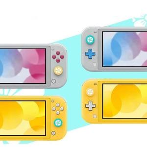Image 4 - Capa de controle para nintendo switch, capa de proteção fofa para joystick de polegar e para controles de nintendo switch lite ns joycon