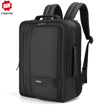 Tigernu Fashion Water Repellent 3 In 1 Laptop Backpack 15.6 Inch Business Bags  Men Mochila High Quality Back Pack For Male