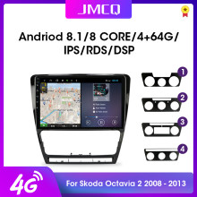 "JMCQ 10.1 ""2din Android 9.0 Car Radio Multimidia Video Pemain RDS DSP untuk Volkswagen SKODA Octavia 2 A5 2007-2014 GPS Navigasi(China)"