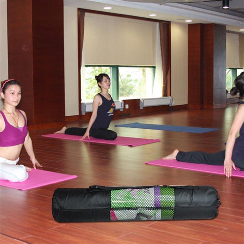 Portable Yoga Mat Bag 67 Cm Adjustable Nylon Mesh Sport Fitness Yoga Mat Tas Pilates Matten Mesh Carrier Bag Sports Equipment