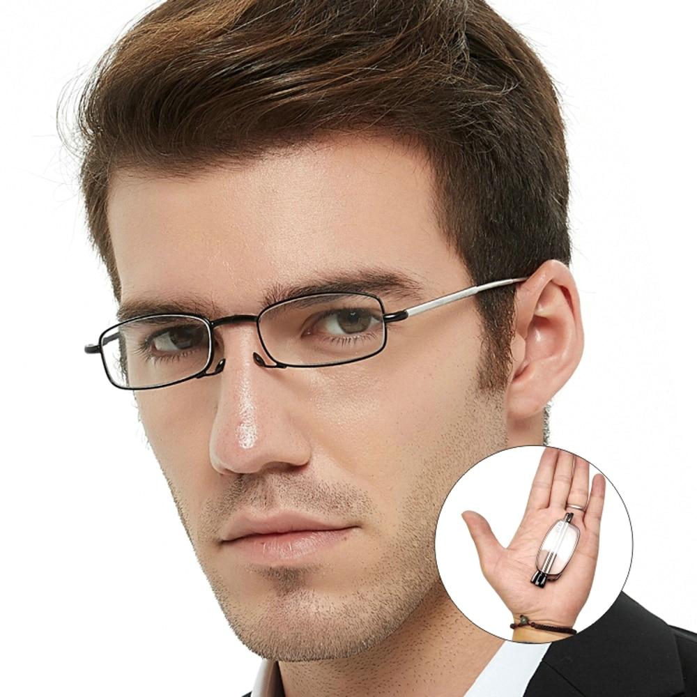 readers reading glasses folding men Presbyopic Glasses women spring hinges frame prescription glasses 2.0