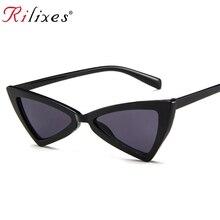 Фирменный дизайн кошачий глаз солнцезащитные очки Женские винтажные женские солнцезащитные очки Женские Модные оттенки Oculos de sol Feminino UV400
