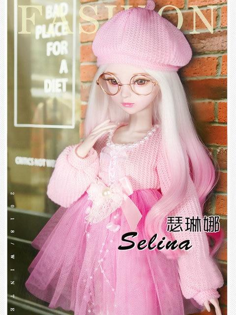 Handmade Female Toy Full Set Jointed Doll