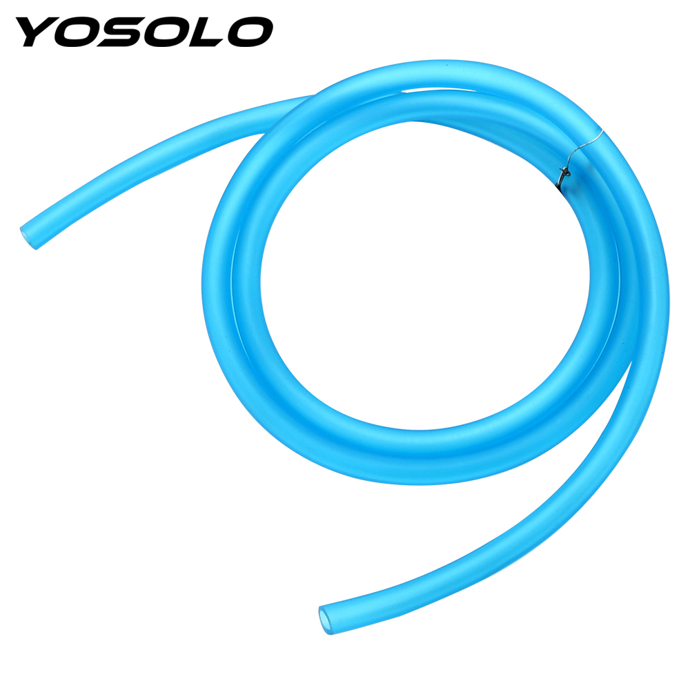 YOSOLO 1M Petrol Fuel Line Motorcycle Hose For Moto Dirt Bike Moto Gas Oil Pipe Tube Flexible
