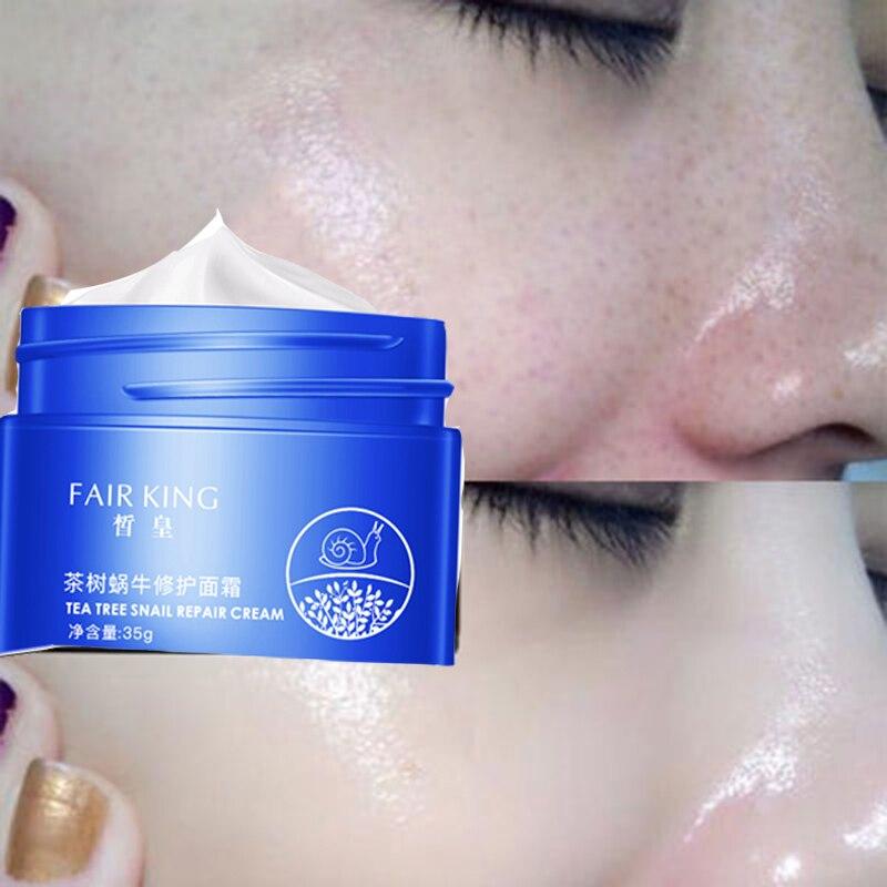 Makeup Primer Liquid Snails Essence Anti Pores Wrinkle Oil Control Cosmetics Tea Tree Eyes Skincare Moisturizing Make Up Base