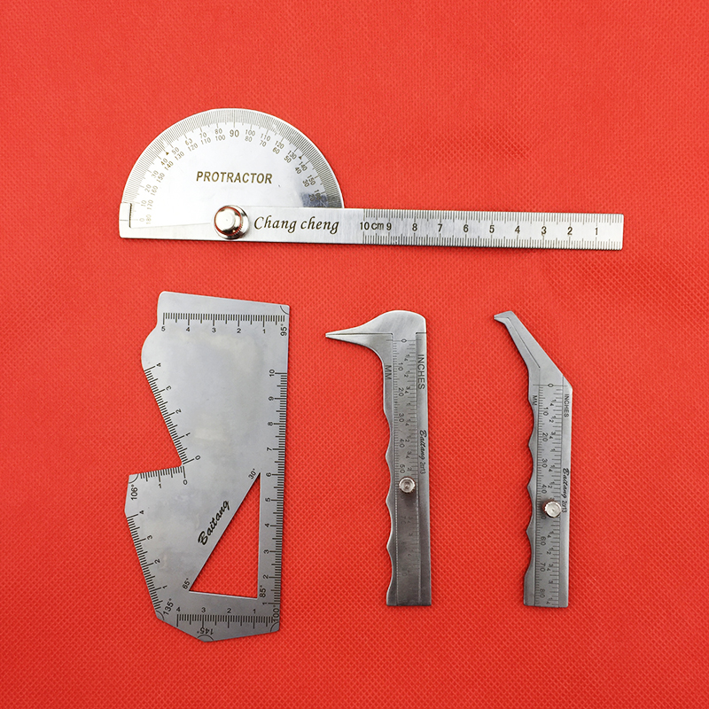 Ruler Nasal Measuring Scale Stainless Steel  Nasal Caliper  Carved Plate Asal Plastic Surgery Instruments  Tools
