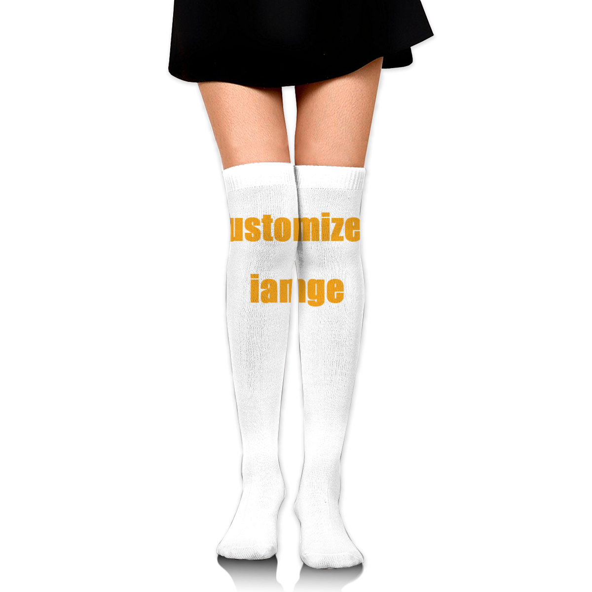 NOISYDESIGNS Customized Printing Women Socks Stockings Warm Thigh High Over The Knee Socks Long Stockings Sexy Stockings Custom