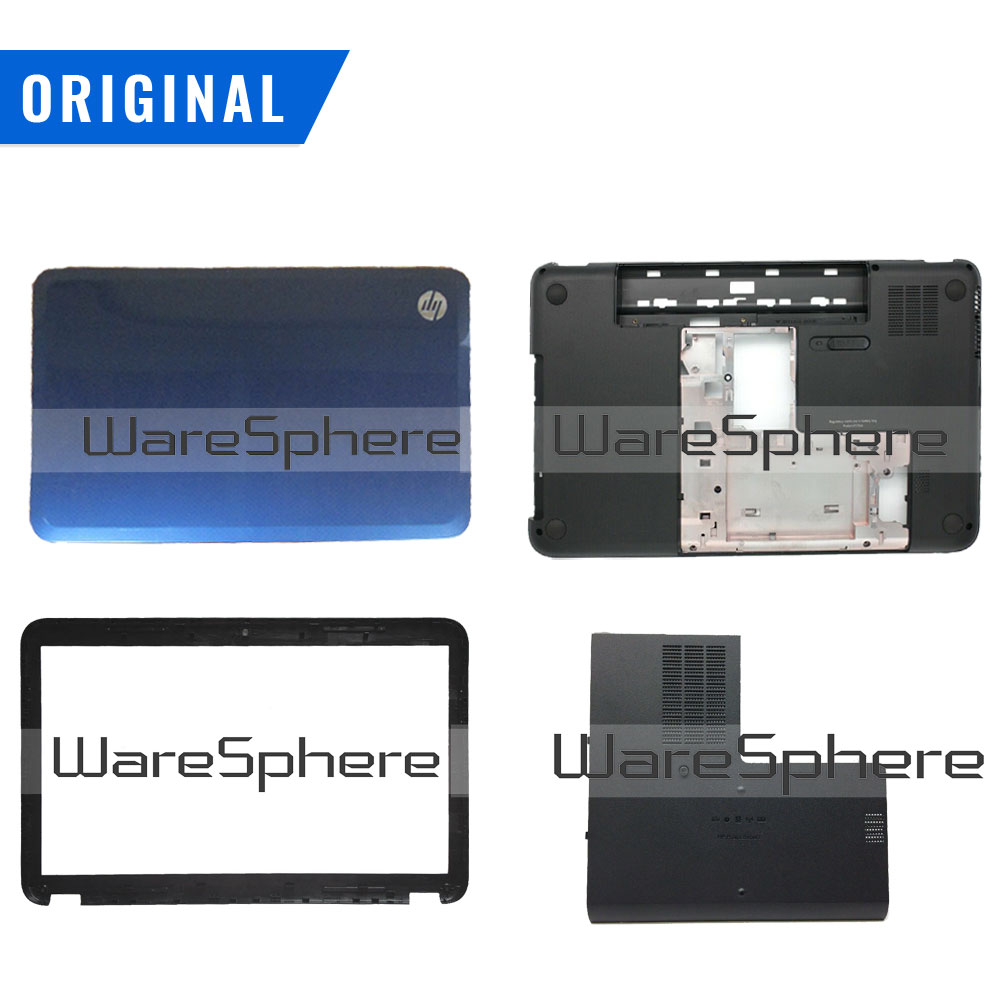 New For HP Pavilion G6-2000 G6 2000 G6-2100 G6-2200 LCD Back Bezel Bottom Base Door Cover 684162-001 684165-001