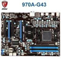 Soquete am3/am3 + msi 970a g43 placa mãe ddr3 amd 970 32 gb pci e 2.0 am3 am3 + desktop 970 mainboard sata iii atx|Placas-mães|   -