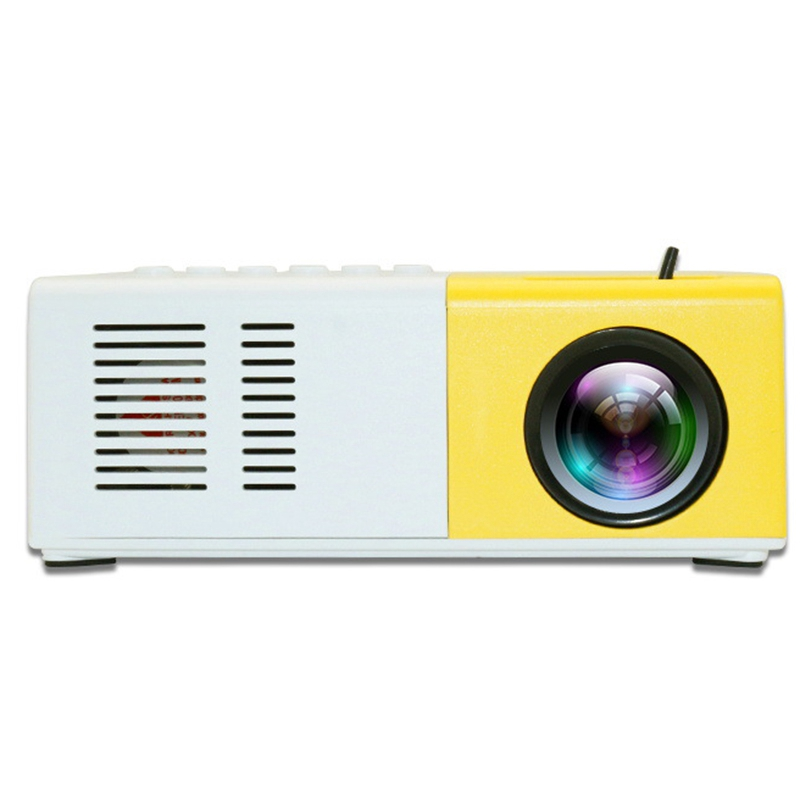 Portable Projector J9 1080P HD Projector Home Mini Theater Cinema Multimedia With Accessories Cable Remote Control Office Projec