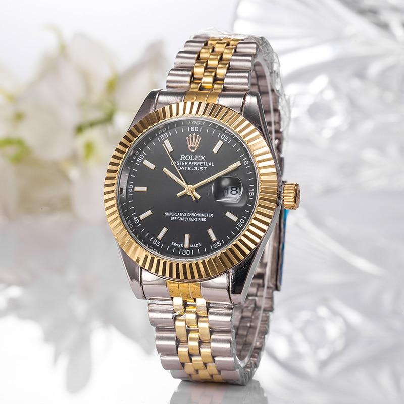 Womens Watches Gift Gold Rolex-Luxury Casual Fashion High-Quality Brand Quartz A05 9999