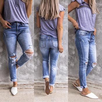 Damskie jeansy Retro damskie spodnie w stylu Hip Hop zgrywanie damskie mankiety damskie proste dżinsy damskie wysokiej talii dżinsy Casual tanie i dobre opinie HMILY Poliester Stretch Spandex Octan Akrylowe Tencel Lyocell Tencel Lyocell Pełnej długości Osób w wieku 18-35 lat