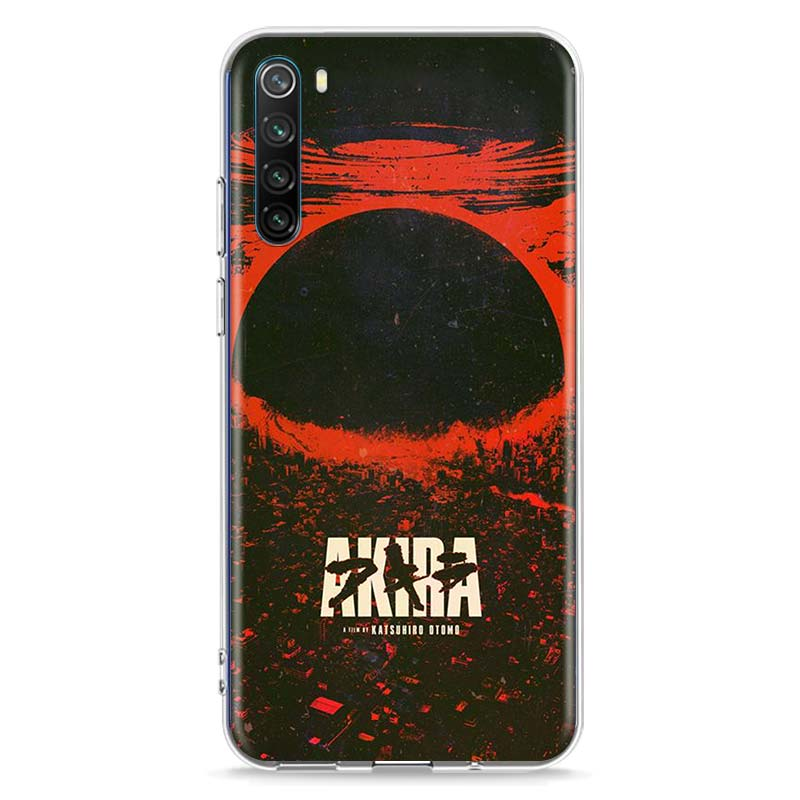 Transparent Soft TPU Cover Akira Anime Fashion For Xiaomi Redmi Note 9 9S Max 8T 8 7 6 5 Pro 5A 4X 4 Phone Case