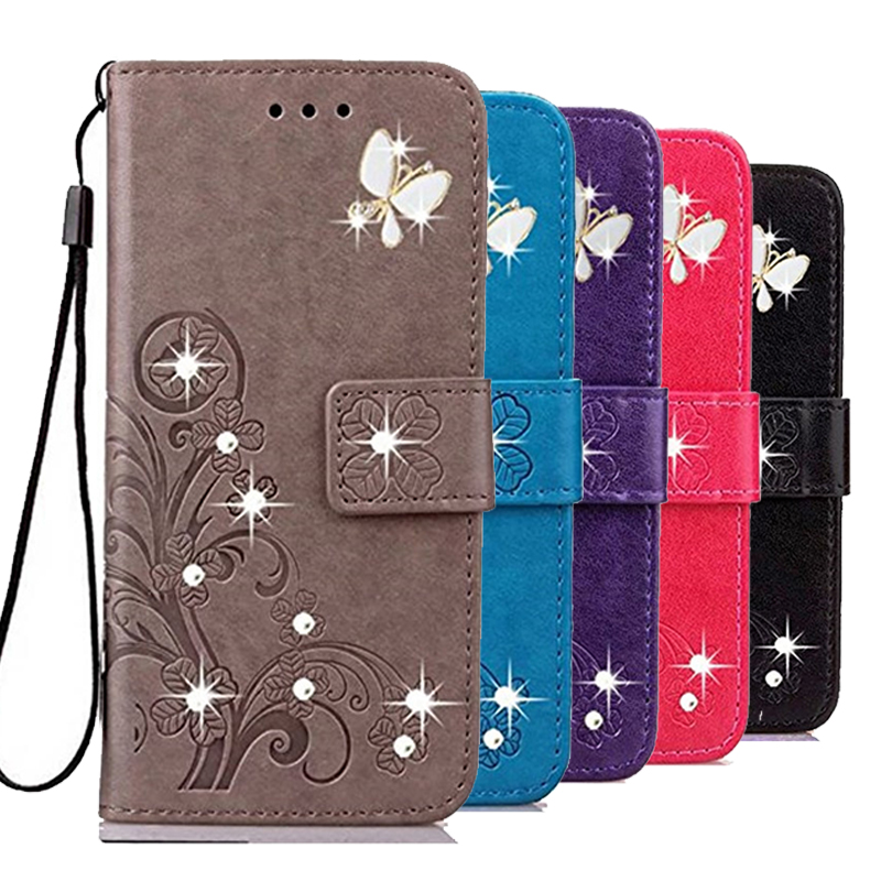 Flower Wallet Phone Case for <font><b>Oneplus</b></font> 6T 7 Pro 5G 7t <font><b>One</b></font> 1 2 3 3T 5 5T 6 X <font><b>A0001</b></font> A3003 A5010 Leather Fundas Cases <font><b>Back</b></font> Cover image
