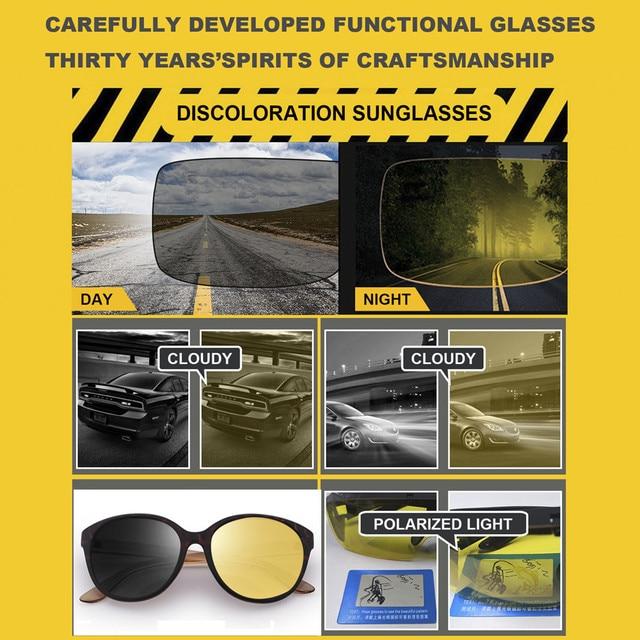Cat Eye Anti Glare Night Driving Glasses Women Polarized Driving Glasses 3