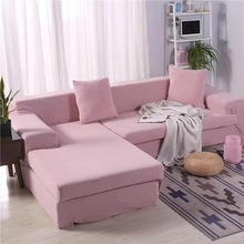 sofa cover elastic sofa cover 2020 new 3d printing non slipl shape 1 2 3 4 seater couch cover sofa cover for living room Elastic Sofa Cover Solid Color For Living Room Sofa Slipcover Couch Cover 1/2/3/4 Seater Corner Sofa Slipcovers