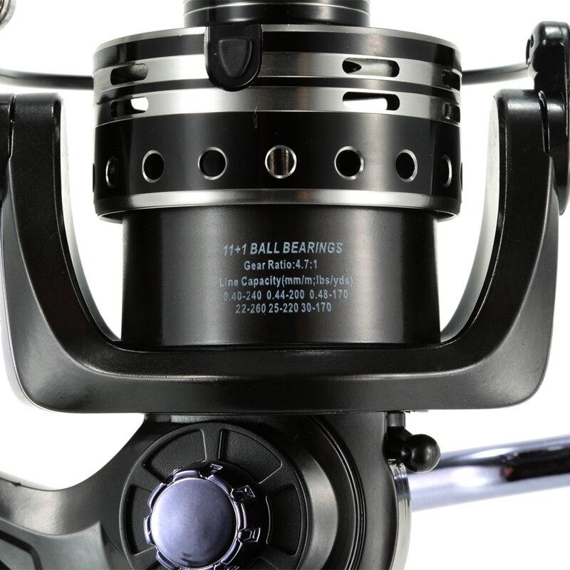 direita lidar com sistema de freio duplo equipamento pesca de lula 05