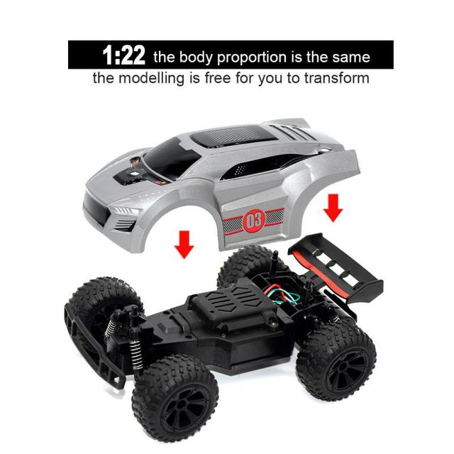 New 2.4G RC Cars Remote Control High-speed Four-wheel Drifting SUV Children's Educational Remote Control Toy kids xmas gifts 4