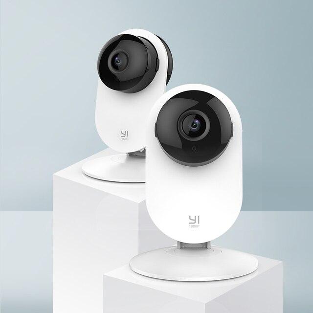 Yi 2Pc Smart Home Camera 1080P Full Hd Indoor Babyfoon Huisdier Ai Menselijk Ip Camera Beveiligingscamera S draadloze Bewegingsdetectie