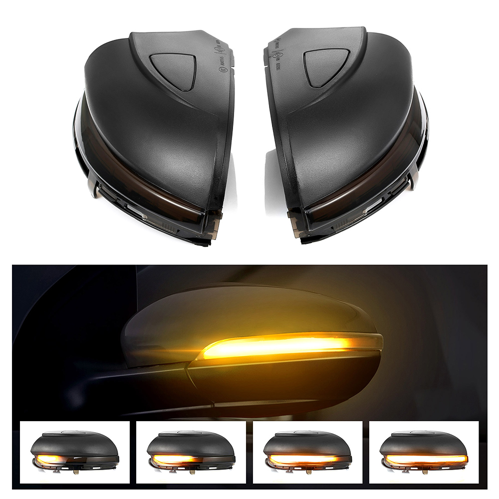 Dynamic Blinker LED Turn Signal Light For Volkswagen VW GOLF 6 VI MK6 GTI R line R20 Touran  Side Mirror Indicator Sequential