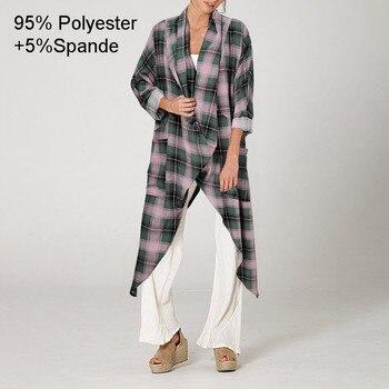 Plus Size Women Tops and Blouse 2021 Celmia Autumn Vintage Long Blouses Casual Cowl Neck Long Sleeve Asymmetric Party Blusas 5XL 17