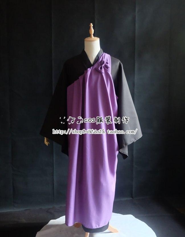 Anime inuyasha cosplay miroku traje miroku quimono cosplay equipamento uniforme cosplay traje de halloween terno para adulto