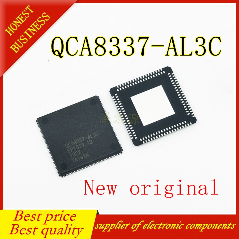5PCS QCA8337-AL3C QCA8337 QFN76 100%    New Original