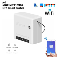 SONOFF MINI DIY Smart Switch timer remote control by eWeLink/Wifi Support An External Switch Work With Alexa Google Home IFTTT|Home Automation Modules|   -