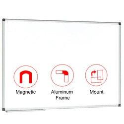 90x90 cm (36x36 zoll) Magnetische Weiß Bord Trockenen Löschen Bord Wand Montiert Whiteboard