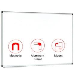 Tablero blanco magnético de 90x90 cm (36x36 pulgadas) pizarra blanca de borrado en seco
