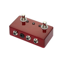 Hand Made Blank Aluminum Enclosure ABY Selector Foot Switch Effect Pedals Electric Guitar Accessories