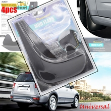 Garde boue universel pour voiture, 4 pièces, pour Suzuki, Mitsubishi, Mini, Hyundai, Toyota, KIA, Buick, FIAT, Audi, VW