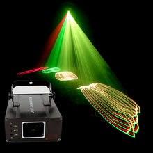 Rgb 3in1 luz de discoteca iluminação laser projetor dj rgb dmx laser luzes palco dj casa festa scanner iluminação