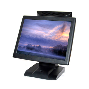 15'' Touch Screen Cashier Pos Machine Points of sales touch POS system in LED monitor